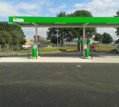 Asda Middlesborough Forecourt