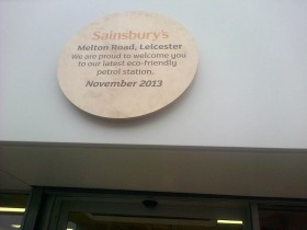 Sainsbury's Forecourt - Leicester